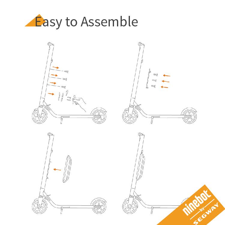 The Segway Ninebot Scooter - WalkSmart